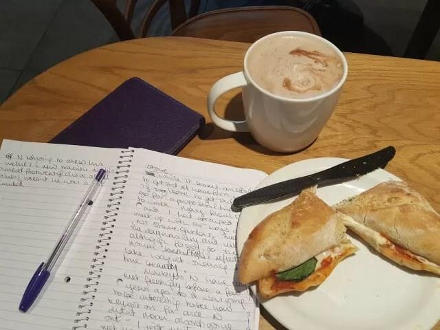 My Sunday Photo - coffee bloging break