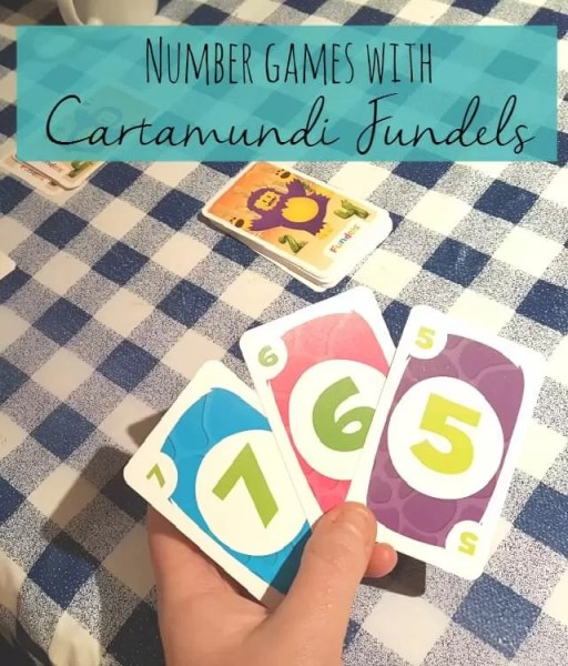 Playing number games with Cartamundi Fundels plus a review - Bubbablue and me