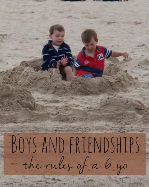 The friendship rules of a 6 year old - Bubbablue and me