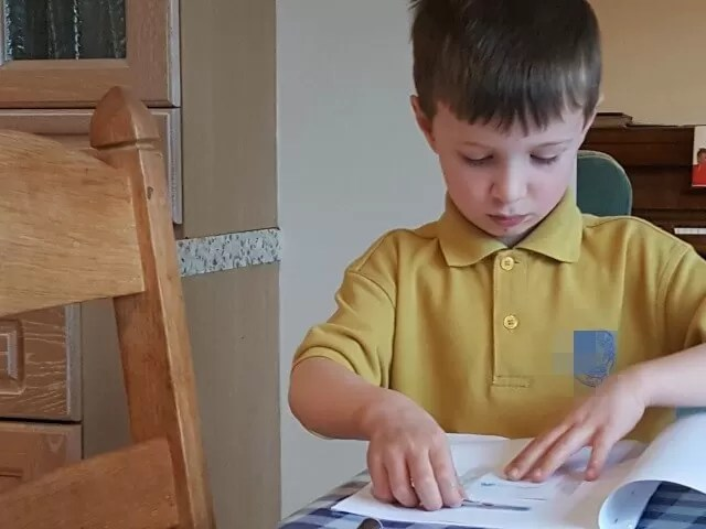 creating his own little book