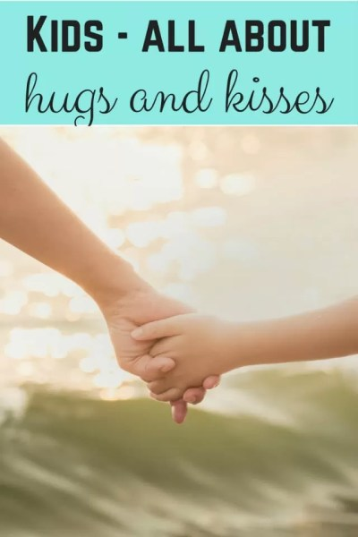 Caring kids and all about hugs and kisses - Bubbablue and me