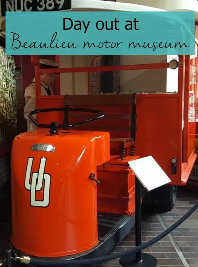 Day trip to Beaulieu for the motor museum and palace house - Bubbablue and me