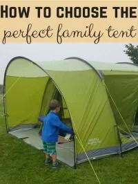 choosing tents