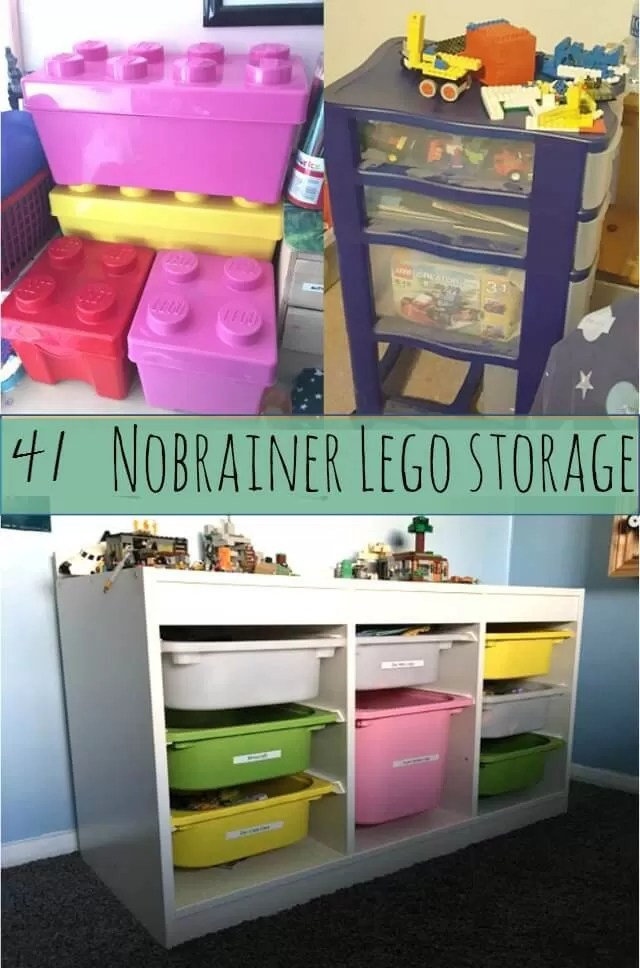 Lego storage and organisation ideas = Bubbablue and me