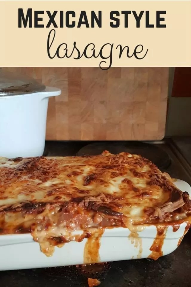 Mexican style lasagne - Bubbabue and me