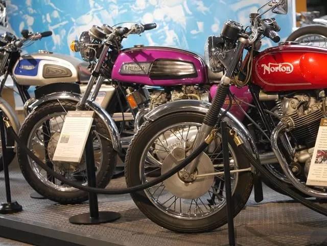 motorbikes at beaulieu