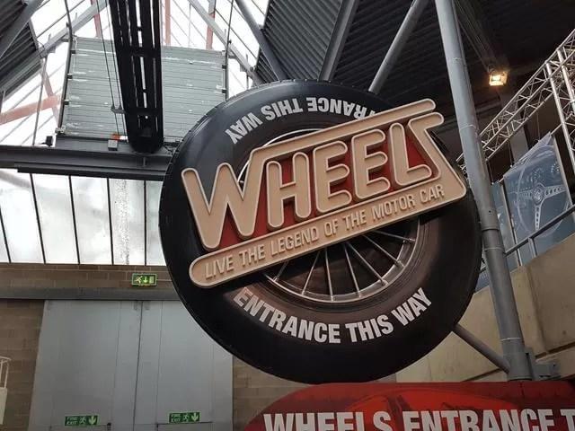 wheels ride at Beaulieu