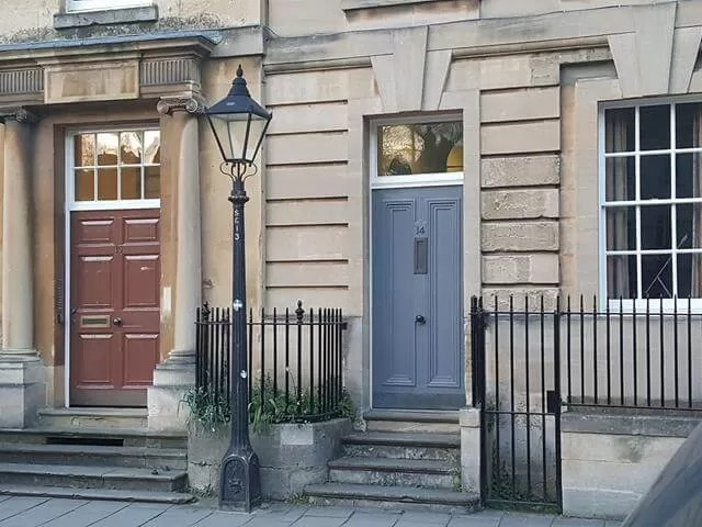 beautiful doors in Oxford