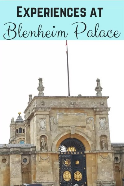 Broader life experiences and a day trip to Blenheim Palace - Bubbablue and me