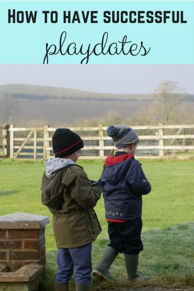 How to have successful playdates - Bubbablue and me