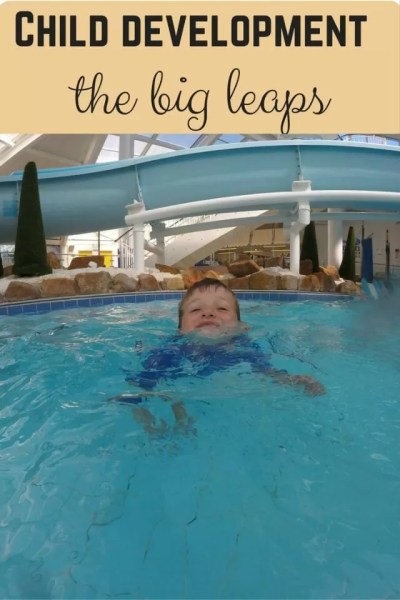 A month of huge child developmental leaps - Bubbablue and me