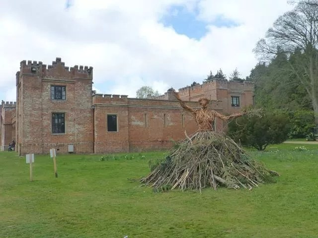 Flebrigg hall from the victory woman