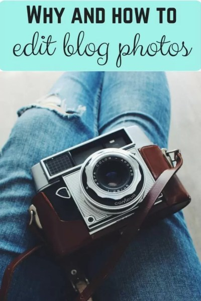 How and why you should edit blog photos - Bubbablue and me
