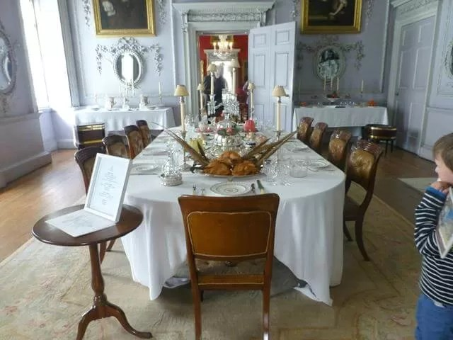 dining room at felbrigg all