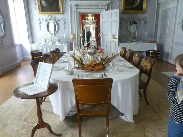dining room at felbrigg all