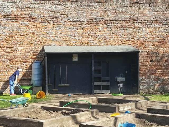 gardening playgrund at Felbrigg hall