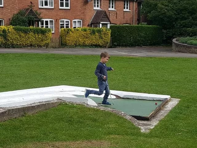more mini golf at st nichols park