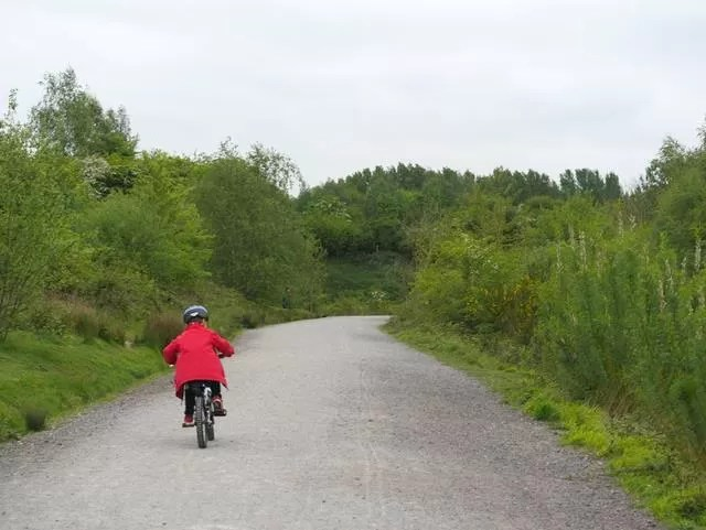 open bike trails at Ryton Pools