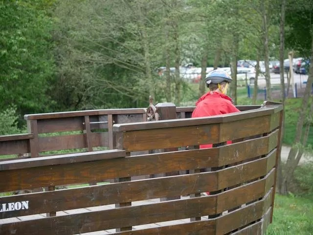pirate ship play at Ryton Pools