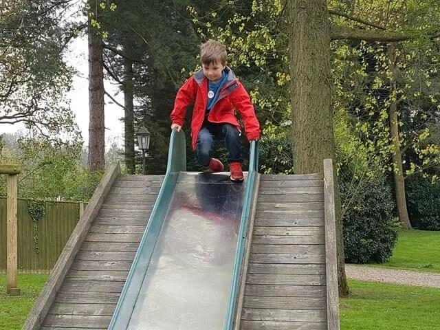 slides at thursford