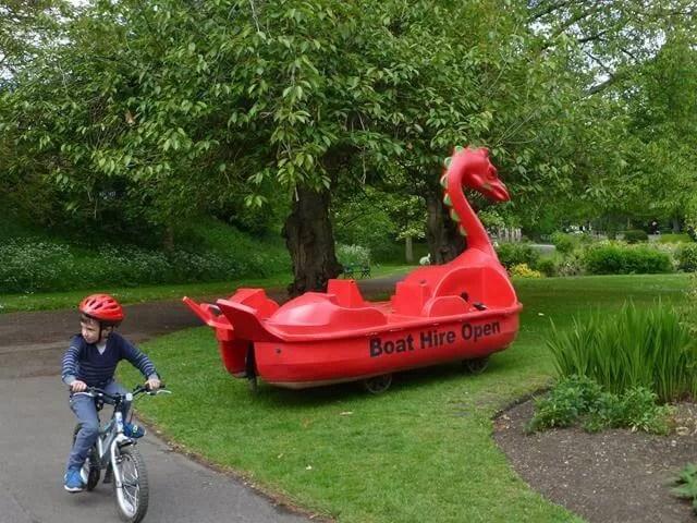 st nicholas park pedalo boat hire
