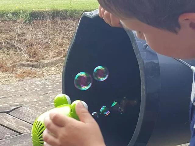 bubble experiments
