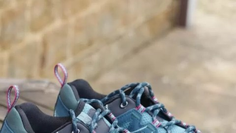 Walking on air with Salomon walking shoes