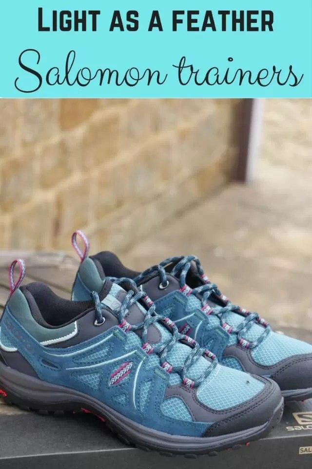 Light as a feather salomon walking trainers review - Bubbablue and me