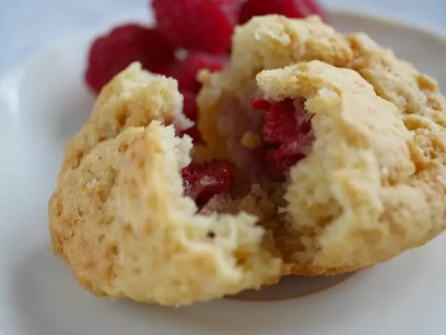easy peasy 3 ingredient raspberry mini muffins