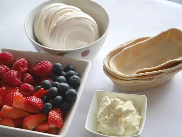 tortilla desserts ingredients