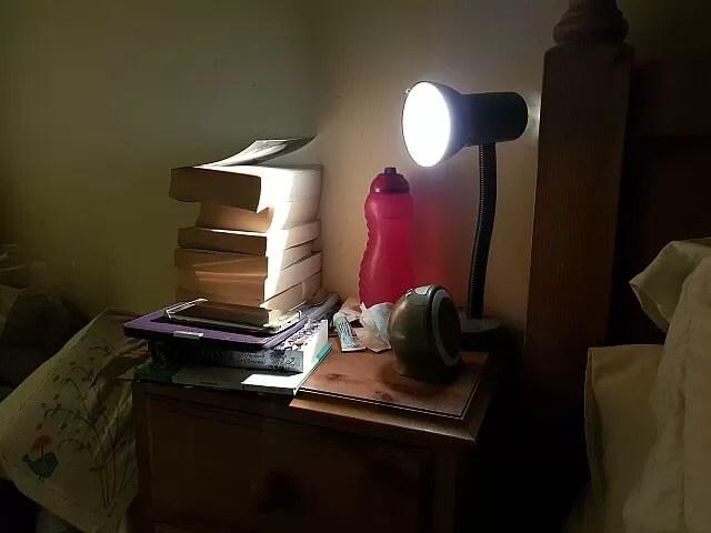bedtime nightstand