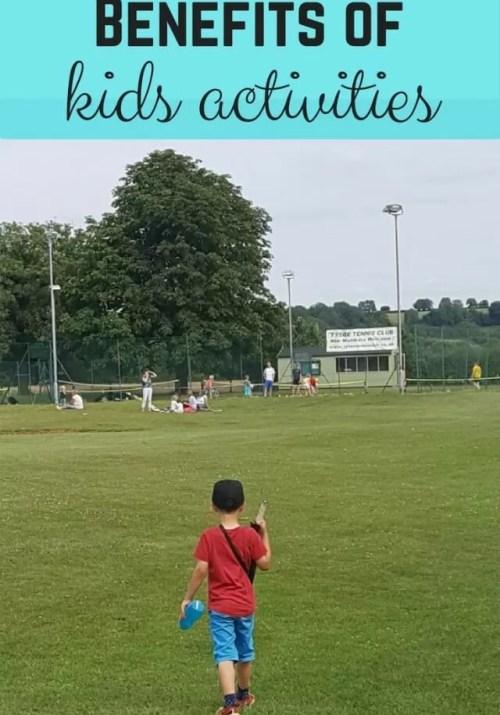 kids activities benefits - Bubbablue and me