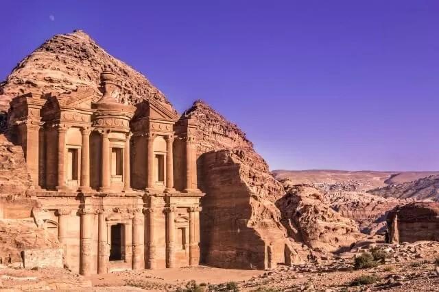 monastary at Petra Jordan