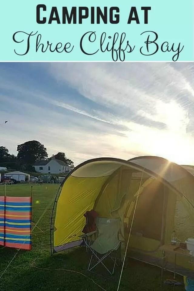3 cliffs bay campsite