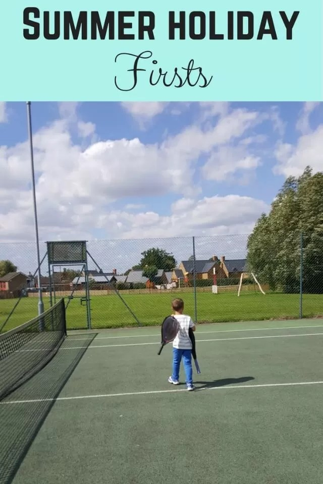 Summer holiday firsts - Bubbablue and me