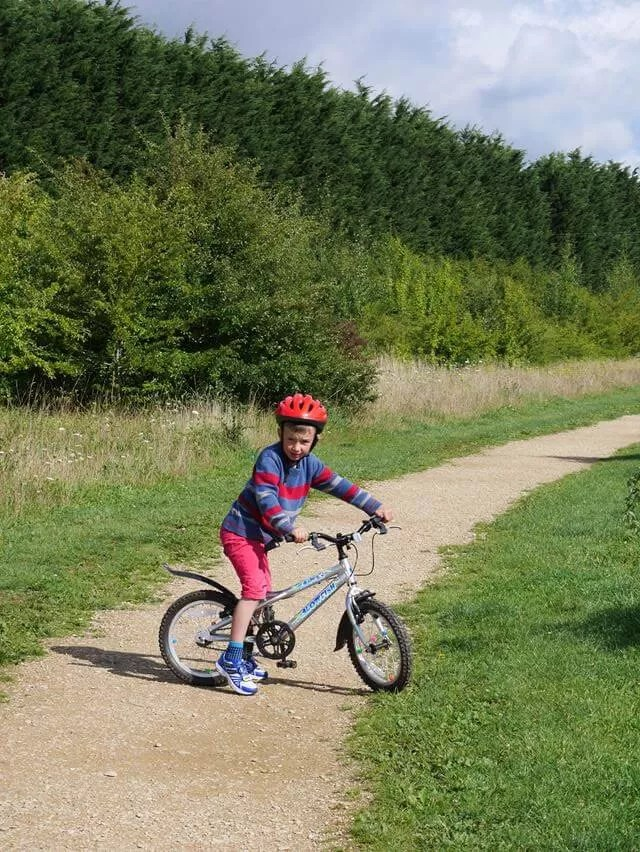 cycling the way in kilkenny lane country park