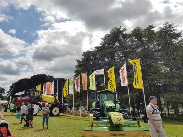 farm vehicle flags