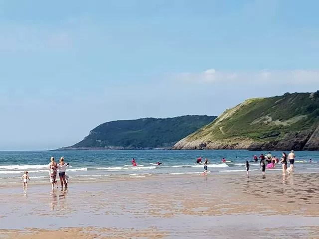 sea view at caswell bay