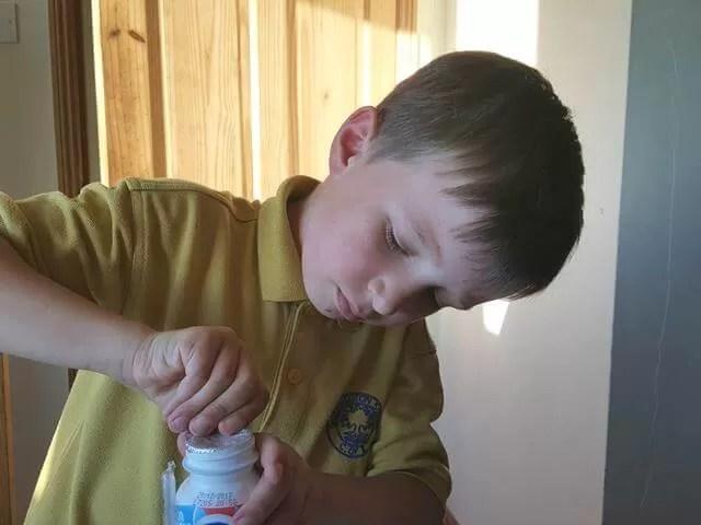 opening milkshakes