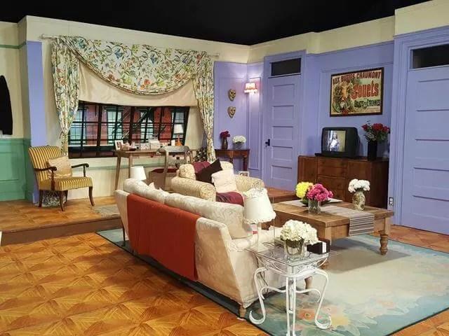Monica and Rachel's apartment
