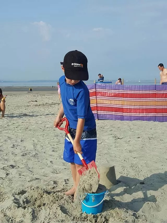 digging at west wittering