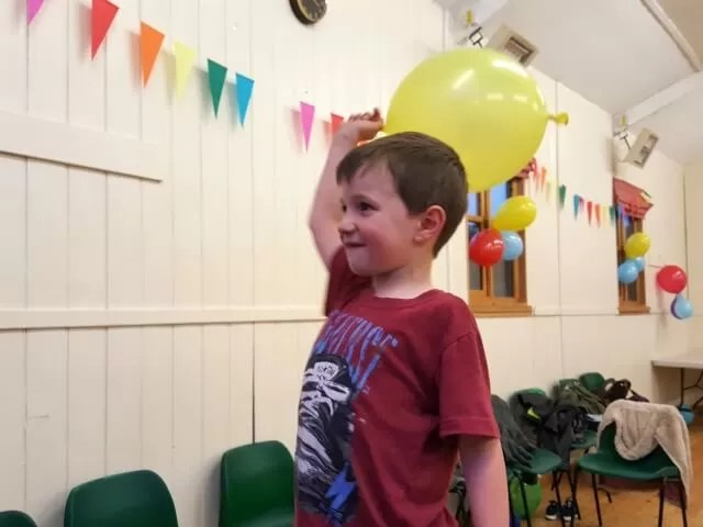 party fun with balloons