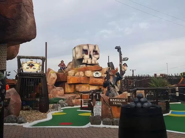 pirate crazy golf at clarence pier southsea