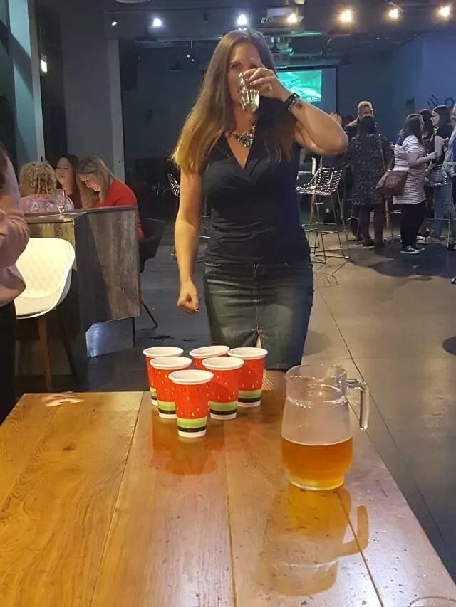 playing non beer pong