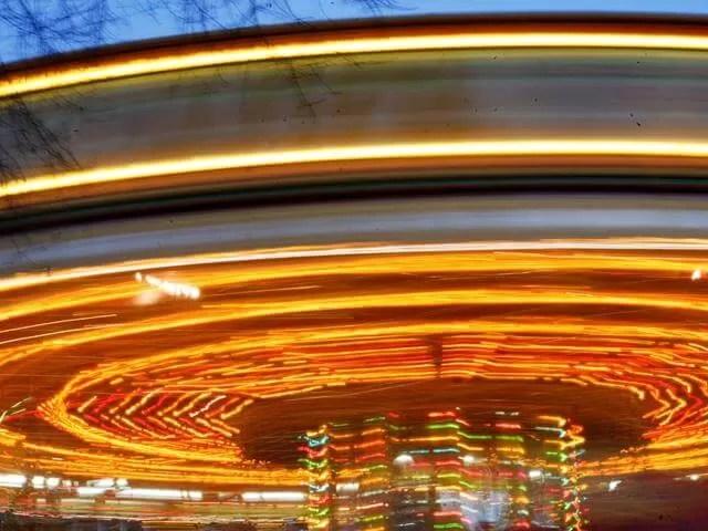 long exposure carousel
