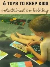 entertain kids on holiday