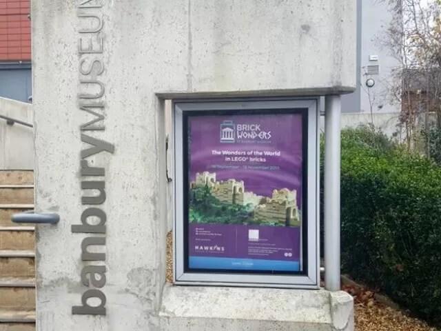 Banbury museum entrance