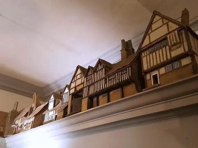 model village at snowshill manor