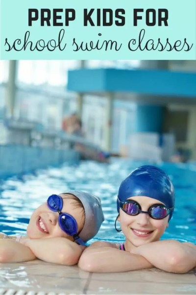 school swimming lessons preparations - Bubbablue and me