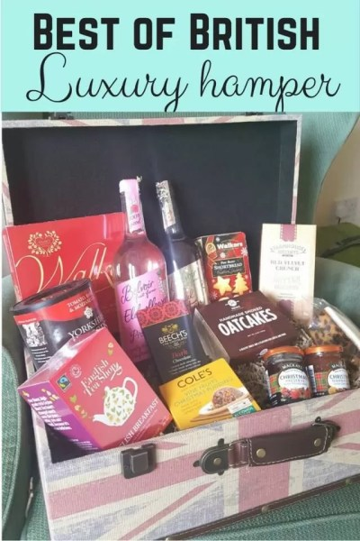 Luxury christmas gift hamper review - Bubbablue and me
